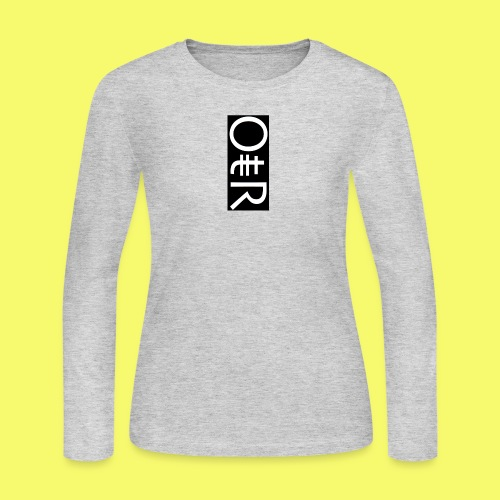 OntheReal coal - Women's Long Sleeve Jersey T-Shirt