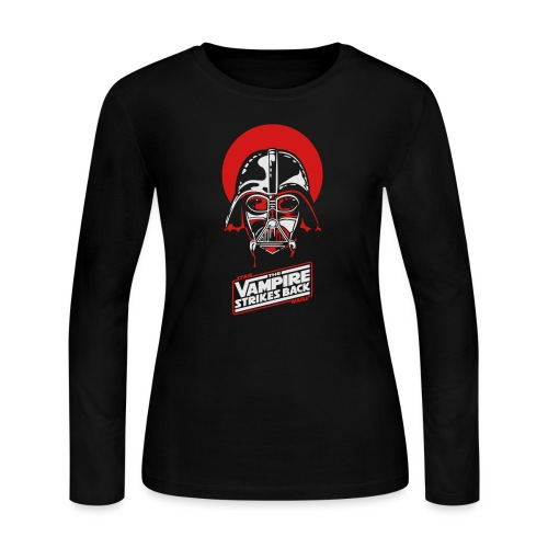 the Vampire Strikes Back - Women's Long Sleeve Jersey T-Shirt
