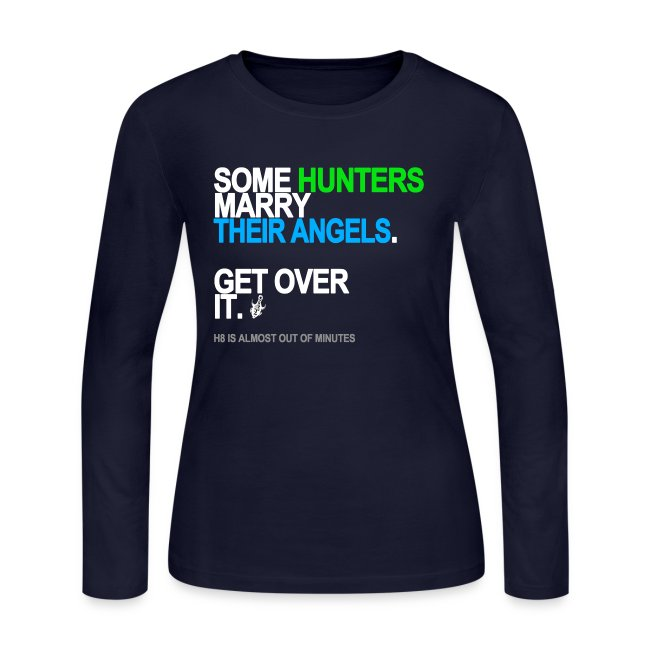 some hunters marry angels black shirt