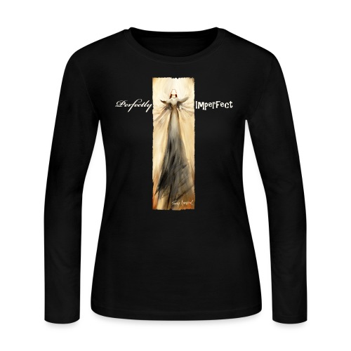Perfectly Imperfect desig - Women's Long Sleeve Jersey T-Shirt