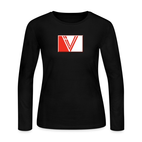 LBV red drop - Women's Long Sleeve Jersey T-Shirt