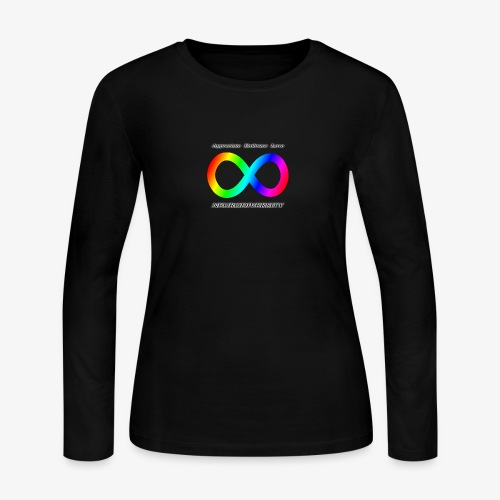 Embrace Neurodiversity - Women's Long Sleeve Jersey T-Shirt
