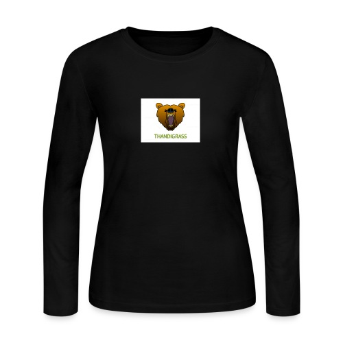 THANDIGRASS - Women's Long Sleeve Jersey T-Shirt
