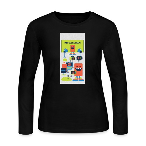 iphone5screenbots - Women's Long Sleeve Jersey T-Shirt