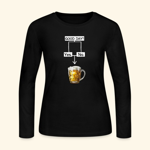 Problem Solving With Beer - Women's Long Sleeve Jersey T-Shirt
