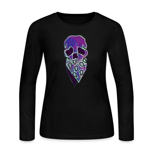 Skulldana - Women's Long Sleeve Jersey T-Shirt