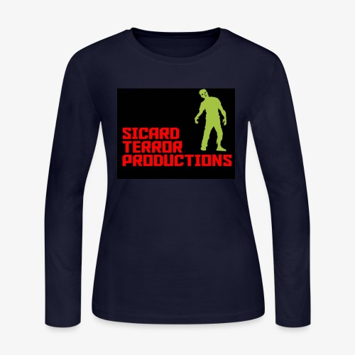 Sicard Terror Productions Merchandise - Women's Long Sleeve Jersey T-Shirt