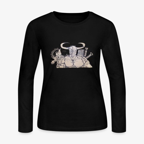 bdealers69 art - Women's Long Sleeve Jersey T-Shirt