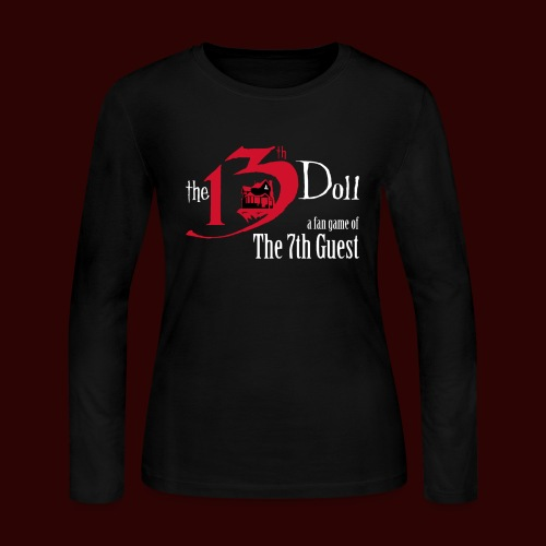 The 13th Doll Logo - Women's Long Sleeve Jersey T-Shirt