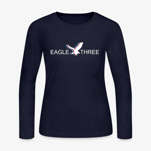 EAGLE THREE APPAREL - Women's Long Sleeve Jersey T-Shirt