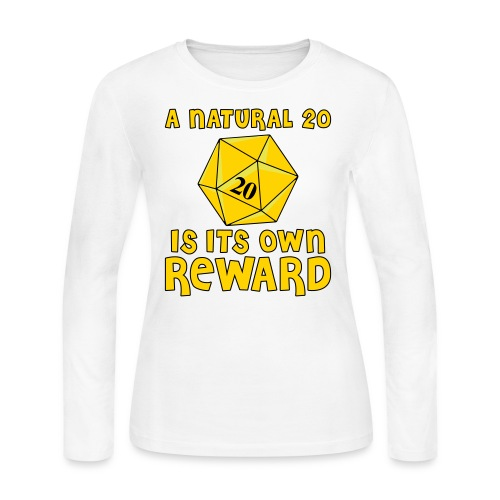 Natural Twenty - Women's Long Sleeve Jersey T-Shirt