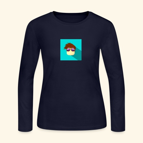 NixVidz Youtube logo - Women's Long Sleeve Jersey T-Shirt