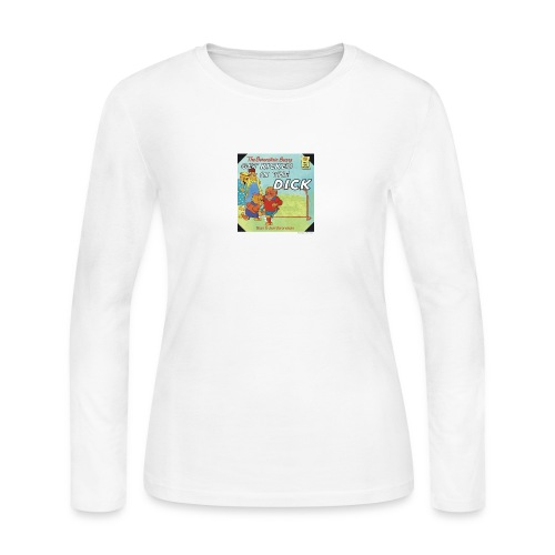 kicked in the dick - Women's Long Sleeve Jersey T-Shirt