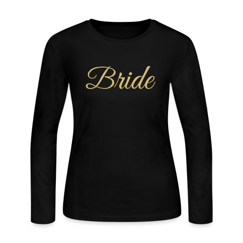 Bride Engagement Wedding - Women's Long Sleeve Jersey T-Shirt