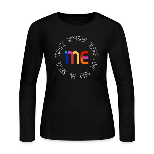 All About ME! - Women's Long Sleeve Jersey T-Shirt