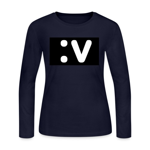 LBV side face Merch - Women's Long Sleeve Jersey T-Shirt