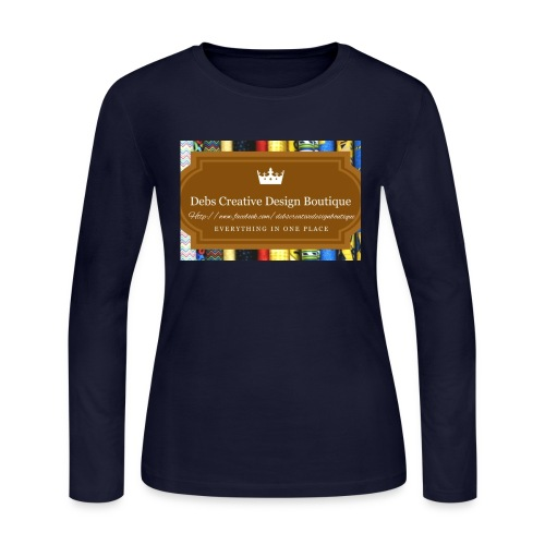 Debs Creative Design Boutique with site - Women's Long Sleeve Jersey T-Shirt