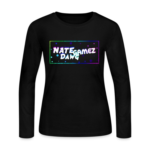 NateDawg Gamez Merch - Women's Long Sleeve Jersey T-Shirt
