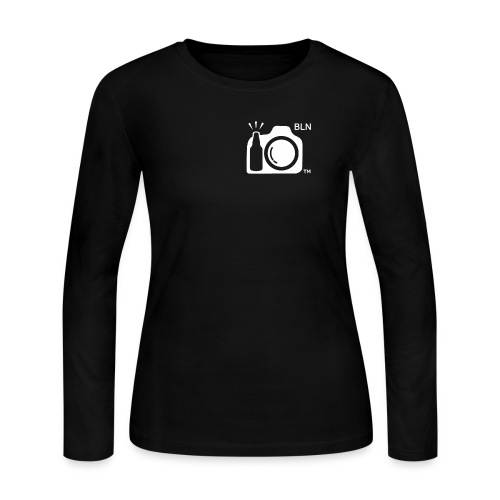 White Transparent With BLN png - Women's Long Sleeve Jersey T-Shirt