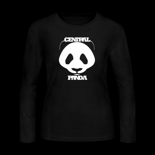 Central Panda - Women's Long Sleeve Jersey T-Shirt