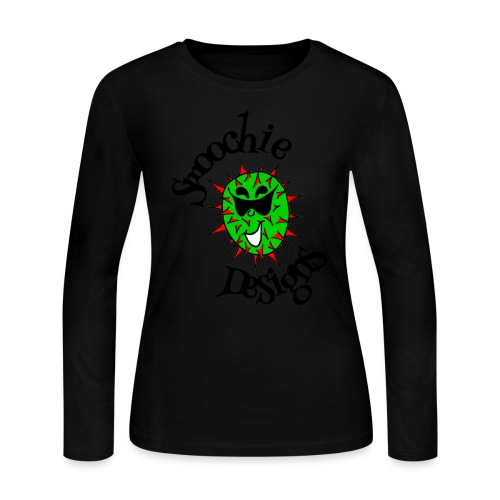 Smoochie Designs logo - Women's Long Sleeve Jersey T-Shirt