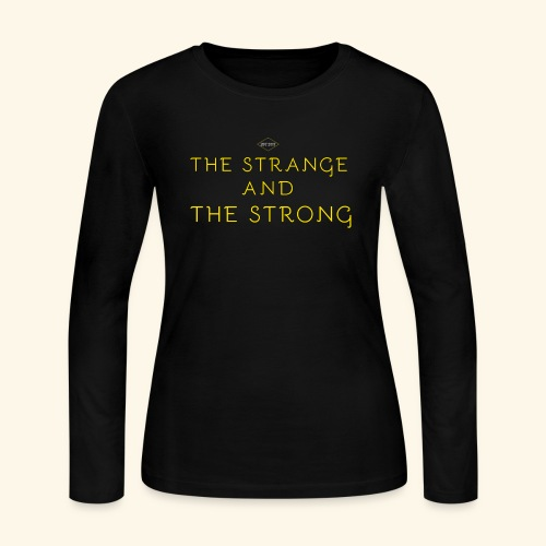 The Strange and The Strong Apparel - Women's Long Sleeve Jersey T-Shirt