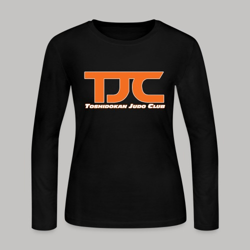 TJCorangeBASIC - Women's Long Sleeve Jersey T-Shirt