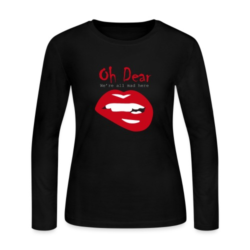 Oh Dear - Women's Long Sleeve Jersey T-Shirt