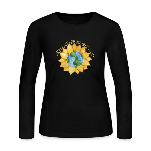 Reduce reuse recycle - Women's Long Sleeve Jersey T-Shirt