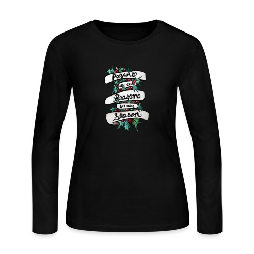 Pagans are the reason for the season - Women's Long Sleeve Jersey T-Shirt