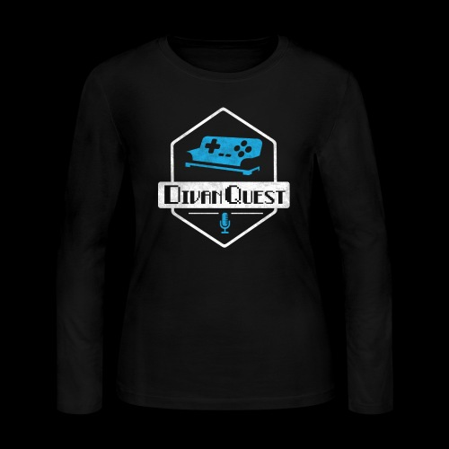 DivanQuest Logo (Badge) - Women's Long Sleeve Jersey T-Shirt