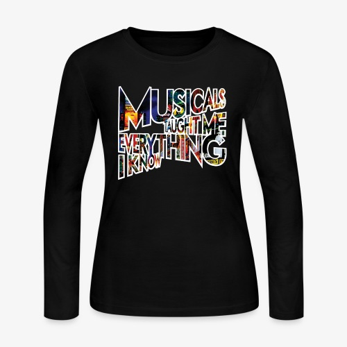 MTMEIK Broadway - Women's Long Sleeve Jersey T-Shirt