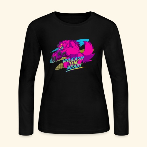 - Unleash the Beast - - Women's Long Sleeve Jersey T-Shirt