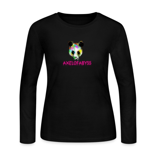 Axelofabyss panda panda paint - Women's Long Sleeve Jersey T-Shirt
