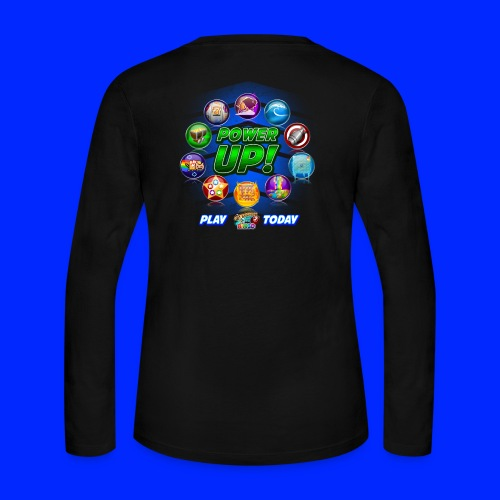 Vintage Cannonball Bingo Power-Up Tee - Women's Long Sleeve Jersey T-Shirt