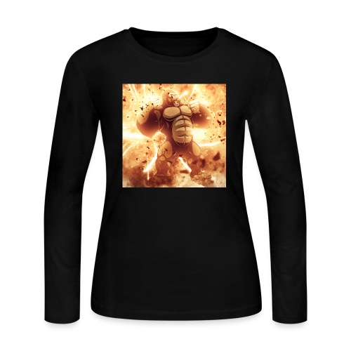 Angry Gorilla Explosion - Women's Long Sleeve T-Shirt