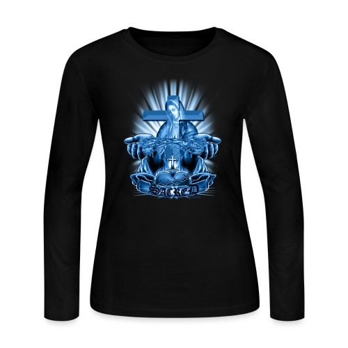 Sacred by RollinLow - Women's Long Sleeve T-Shirt