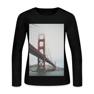 Golden Gate Bridge - Women's Long Sleeve Jersey T-Shirt