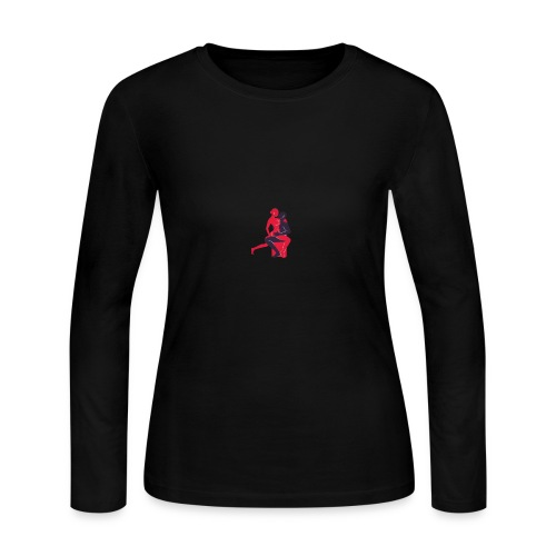 png_2_69_posi----es_copy - Women's Long Sleeve Jersey T-Shirt