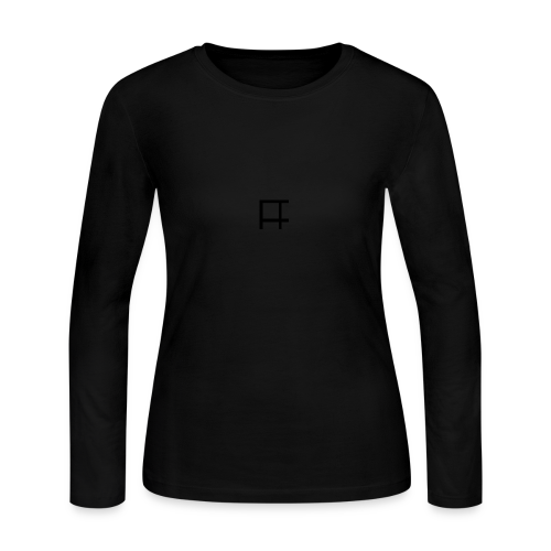 HUGE Logo - Women's Long Sleeve Jersey T-Shirt