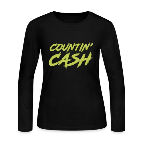COUNTIN CASH T SHIRT FRONT - Women's Long Sleeve Jersey T-Shirt