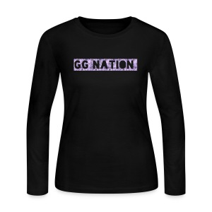 GG NATION MERCH - Women's Long Sleeve Jersey T-Shirt