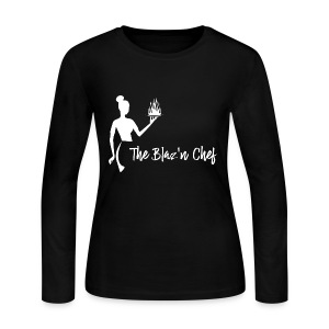 LOGO WHITE without Plant - Women's Long Sleeve Jersey T-Shirt