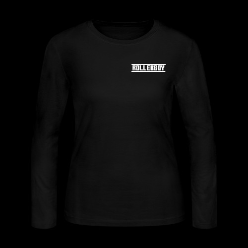 Exclusive ROLLERBOY NAME LABLE - Women's Long Sleeve Jersey T-Shirt