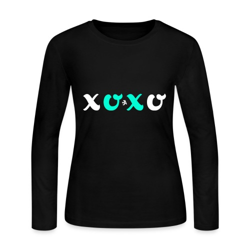 JordynAmber - XOXO Design - Women's Long Sleeve Jersey T-Shirt