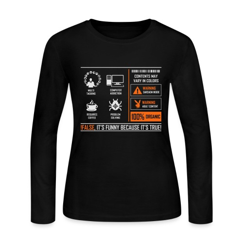 Programmer - Women's Long Sleeve Jersey T-Shirt