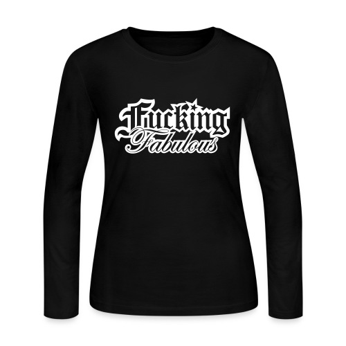 Fucking Fabulous Version 2 - Women's Long Sleeve Jersey T-Shirt