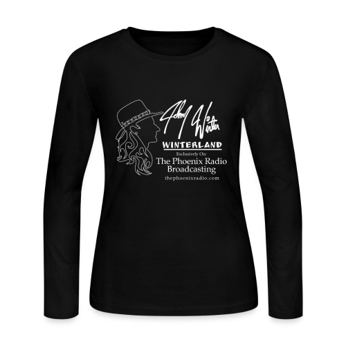 Johnny Winter's Winterland - Women's Long Sleeve Jersey T-Shirt