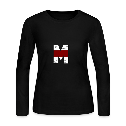 WHITE AND RED M Season 2 - Women's Long Sleeve Jersey T-Shirt