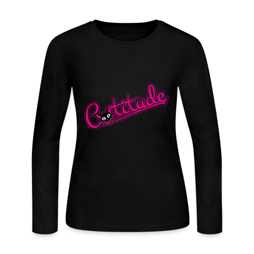 Catitude - Women's Long Sleeve Jersey T-Shirt